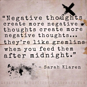 Negative Thoughts - Sarah Klaren