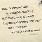 """What if..."" | a poem by Sarah Klaren"