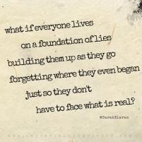 """What if...""   a poem by Sarah Klaren"