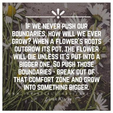 Grow. - Sarah Klaren